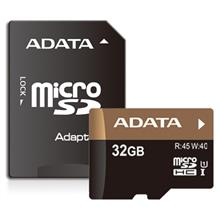 ADATA Premier UHS-I U1 Class 10 45MBps microSDHC 32GB With Adapter